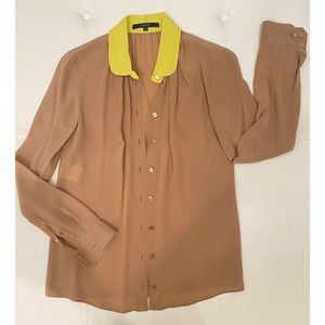 GUCCI Bi-Color Blouse Sz 40